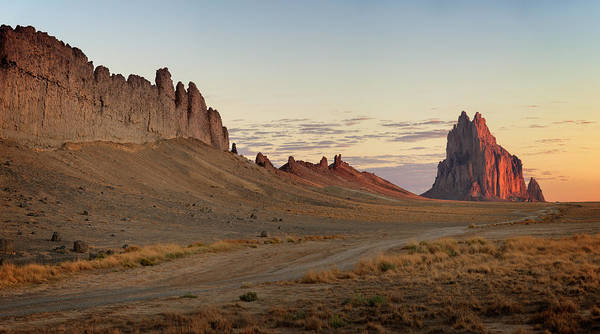 Land Of Enchantment Photograph - Shiprock Iv by Ricky Barnard
