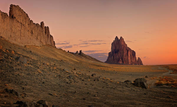 Land Of Enchantment Photograph - Shiprock by Ricky Barnard