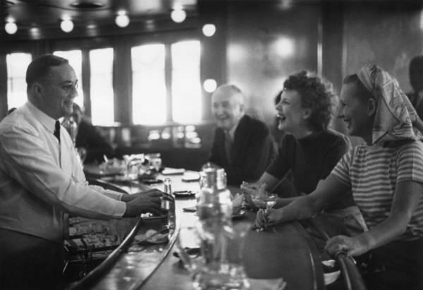 Bar Photograph - Ships Bar by Bert Hardy