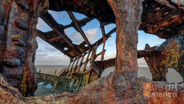 Photograph - Shipwrecked by Doug Sturgess
