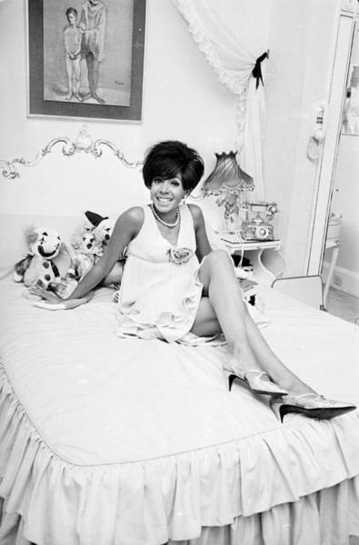 Furniture Photograph - Shirley At Home by Larry Ellis