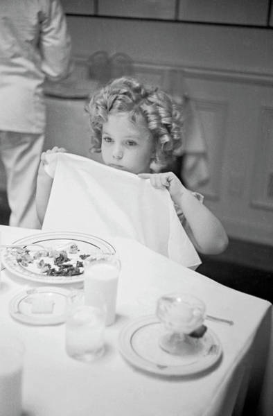 Child Actress Wall Art - Photograph - Shirley Temple by Alfred Eisenstaedt