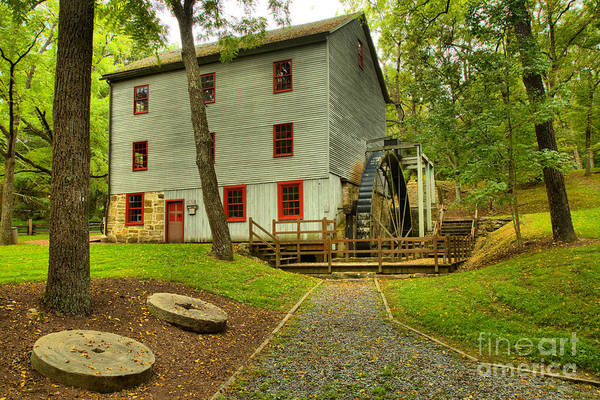 Photograph - Shoaff's Grist Mill by Adam Jewell