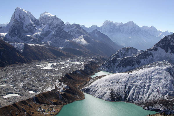 Gokyo Photograph - Shock And Awe by Ethan Haskel