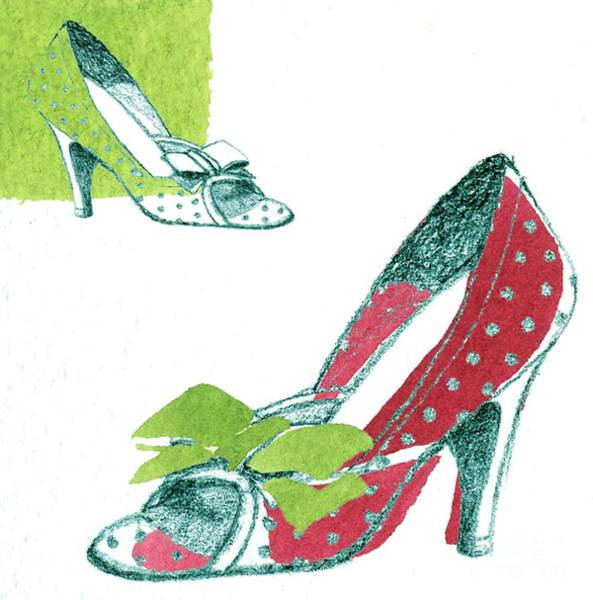 Arch Mixed Media - Shoe by Anna Platts