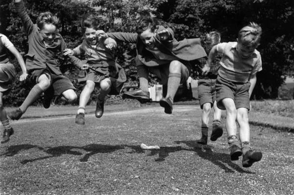 Playful Photograph - Shoe Testers by Thurston Hopkins