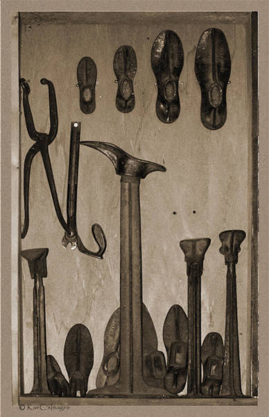 Photograph - Shoemakers Tools by Kae Cheatham