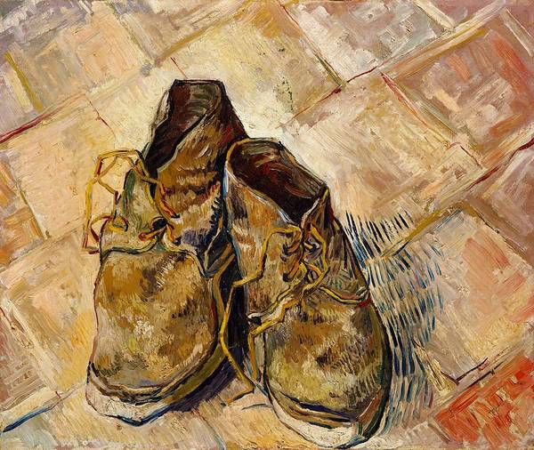Wall Art - Painting - Shoes - Digital Remastered Edition by Vincent van Gogh