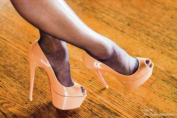 Photograph - Shoes by Jim Lesher