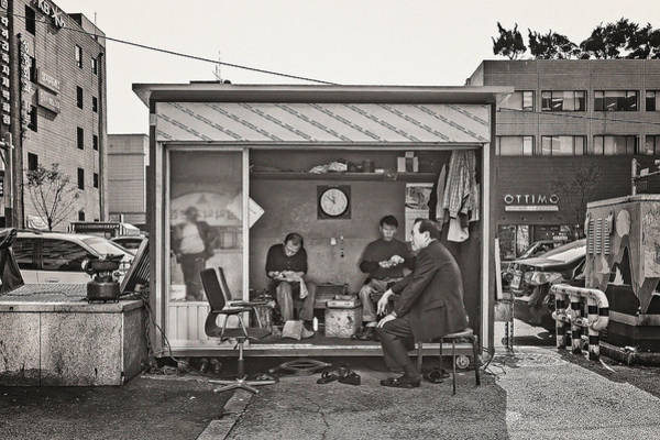 Photograph - Shoes Repairing by Roberto Pagani