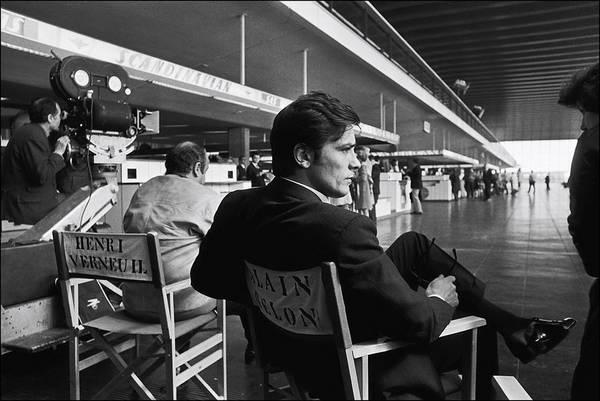 Photograph - Shooting Of The Film  Le Clan Des by Jean-pierre Bonnotte