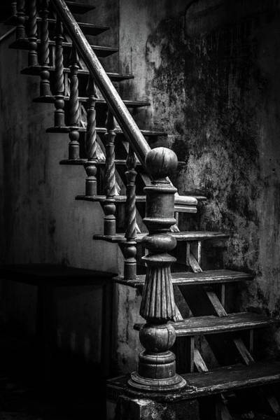 Photograph - Shop Stairway Hoi An by Gary Gillette