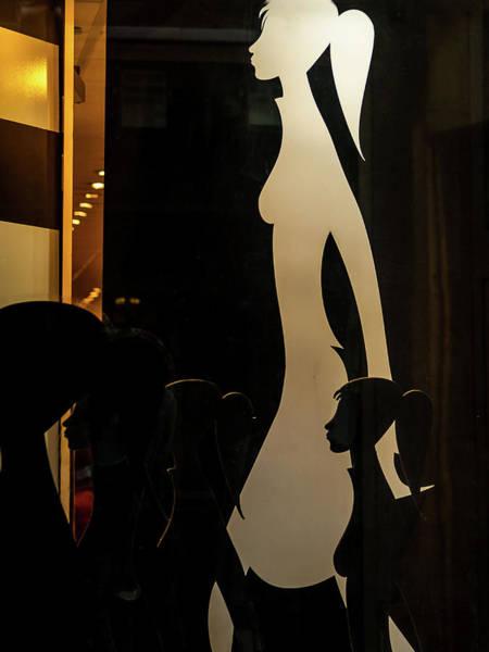 Photograph - Shopgirls 2 by Jorg Becker