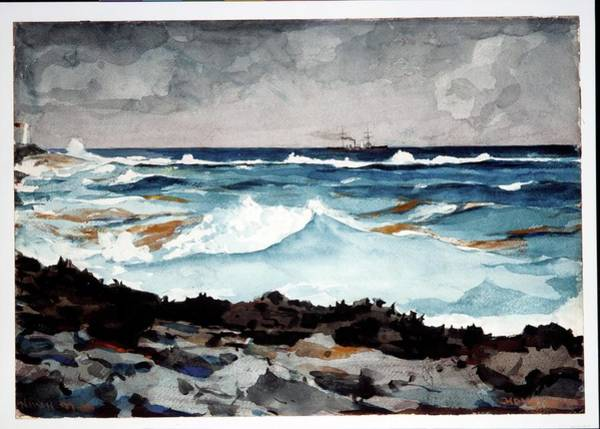 Wall Art - Painting - Shore And Surf by MotionAge Designs