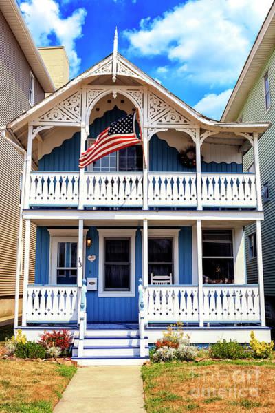 Photograph - Shore House In Ocean Grove by John Rizzuto