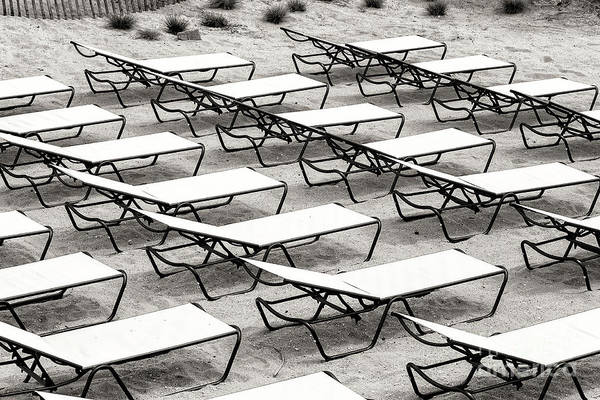 Down The Shore Photograph - Shore Lounges At Long Branch by John Rizzuto