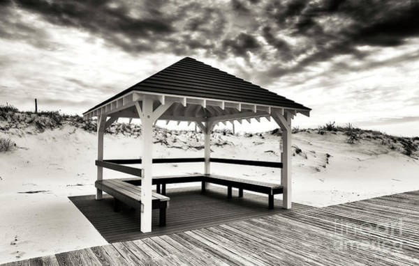 Down The Shore Photograph - Shore Shelter At Seaside Park by John Rizzuto