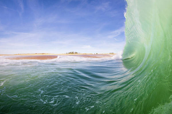 Photograph - Shorebreak by Eric Full