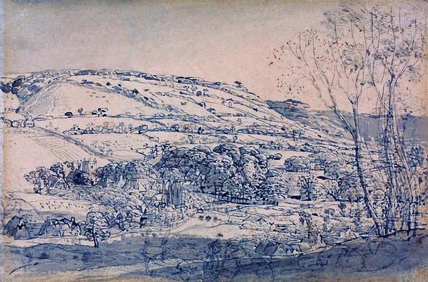Wall Art - Painting - Shoreham, Kent - Digital Remastered Edition by Samuel Palmer