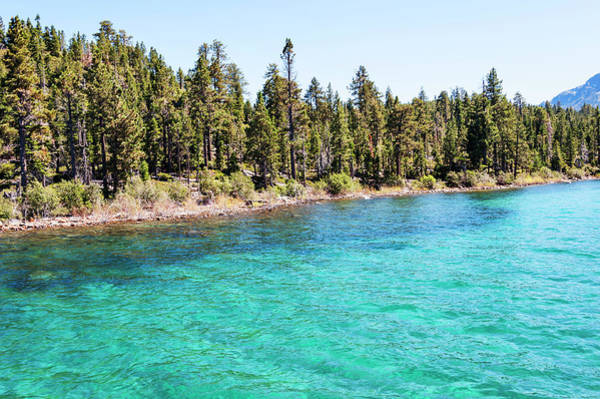 Lake Tahoe Photograph - Shoreline Emerald Bay by Jmoor17