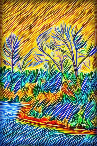 Digital Art - Shores Of Enlightenment by Joel Bruce Wallach