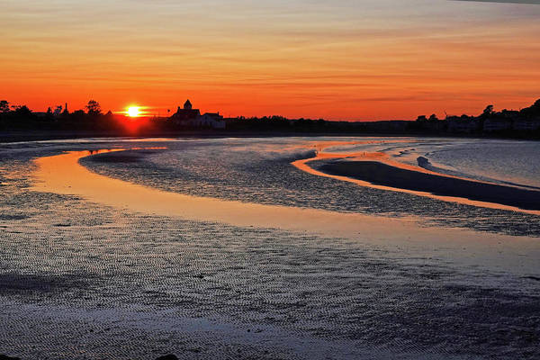 Photograph - Short Beach Sunset Nahant Ma by Toby McGuire
