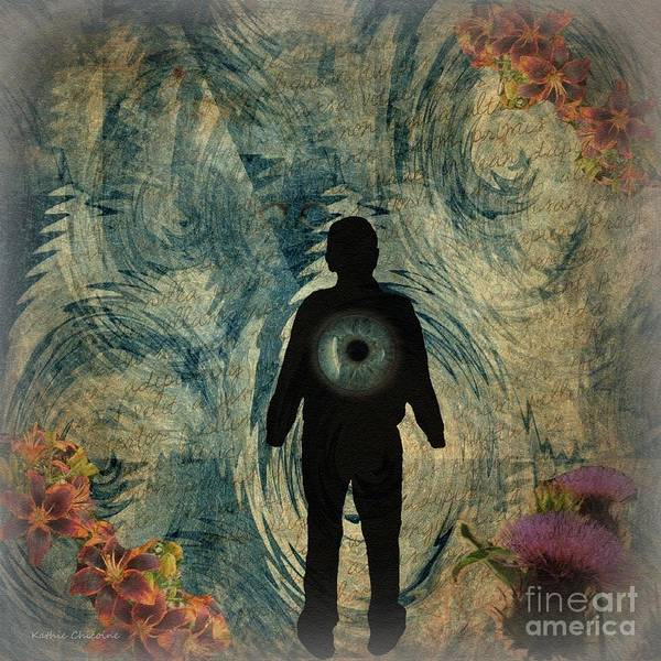 Digital Art - Should Eye Go? by Kathie Chicoine