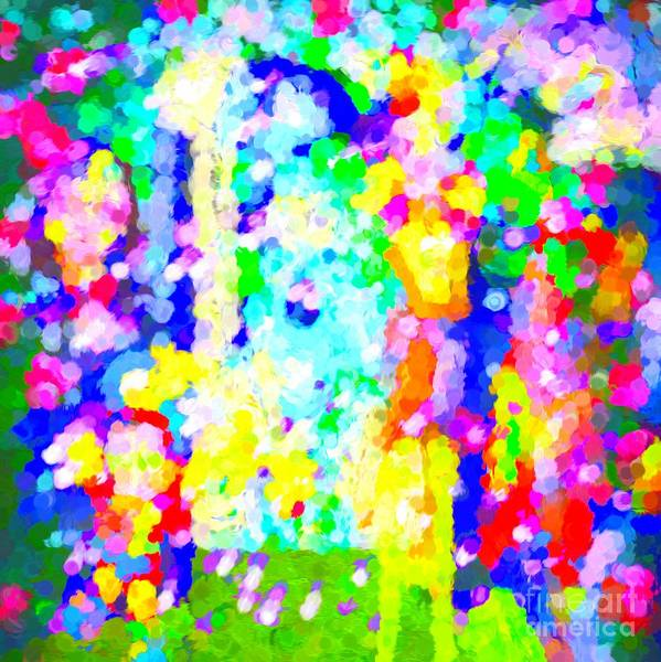 Digital Art - Show Time Spectacular Abstract by Debra Lynch