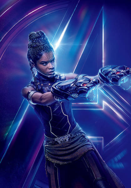 Wall Art - Digital Art - Shuri  Marvel Cinematic Universe by Geek N Rock