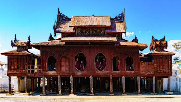 Photograph - Shwe Yan Pyay Monastery by Chris Lord