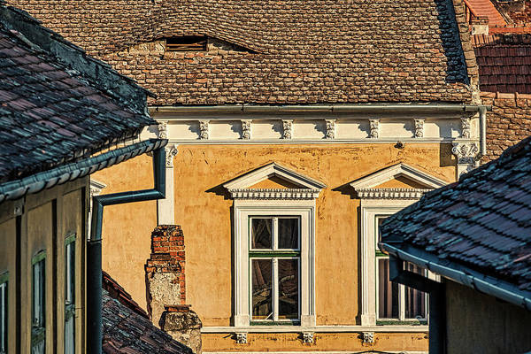 Photograph - Sibiu Architecture #2 - Romania by Stuart Litoff