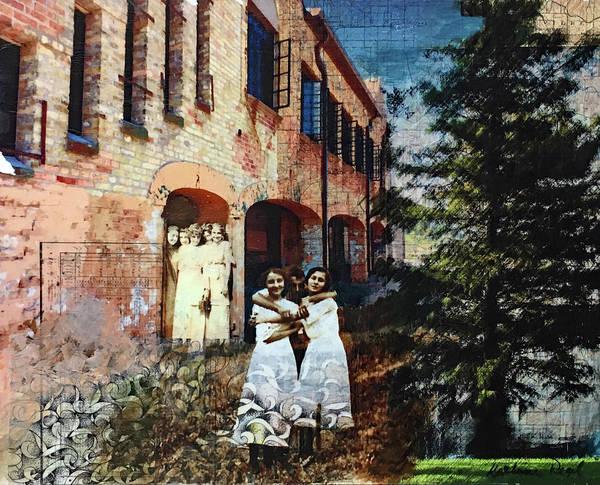 Wall Art - Mixed Media - Siblings, No Rivalry by Kathryn Regel