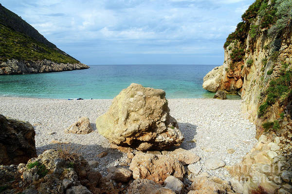 Photograph - Sicilian Sea Sound Of Zingaro by Silva Wischeropp