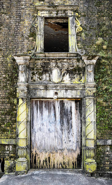 Wall Art - Photograph - Side Entrance Historic Baker Hotel Mineral Wells Texas by Debra Martz