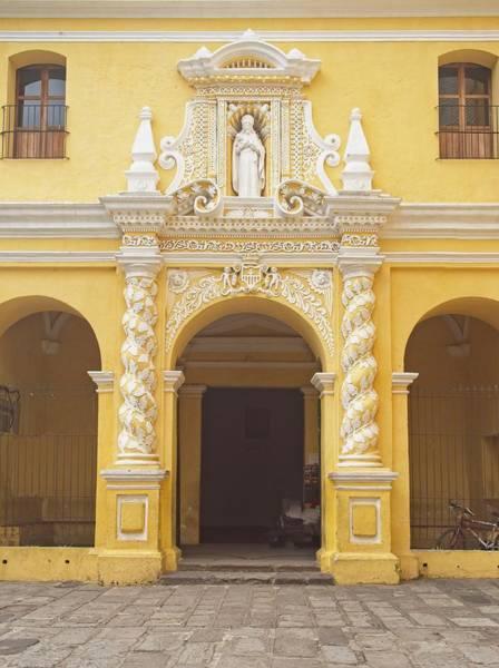 Wall Art - Photograph - Side Entrance To La Mercid by Douglas Barnett