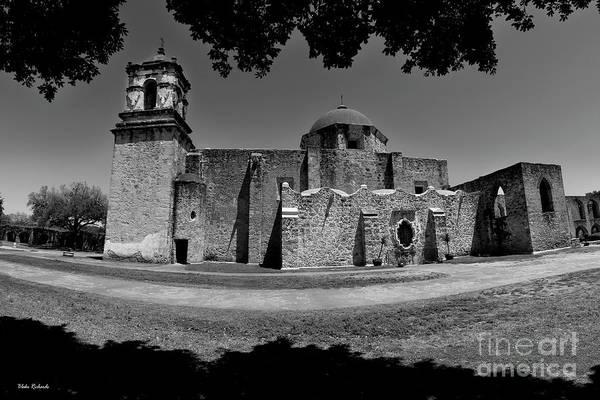Photograph - Side Of Mission San Jose San Antonio Texas by Blake Richards