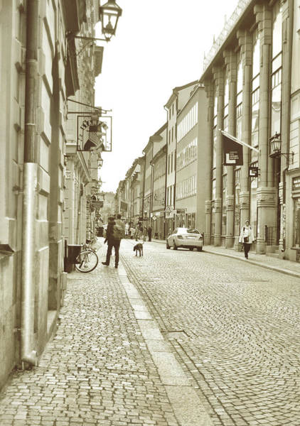 Photograph - Side Streets Of Stockholm by JAMART Photography