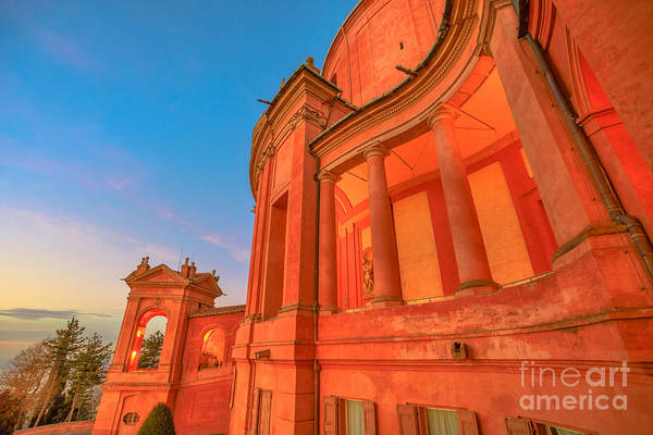 Photograph - Side View Of San Luca Sanctuary by Benny Marty