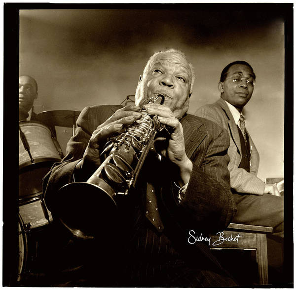 Photograph - Sidney Bechet by Carlos Diaz