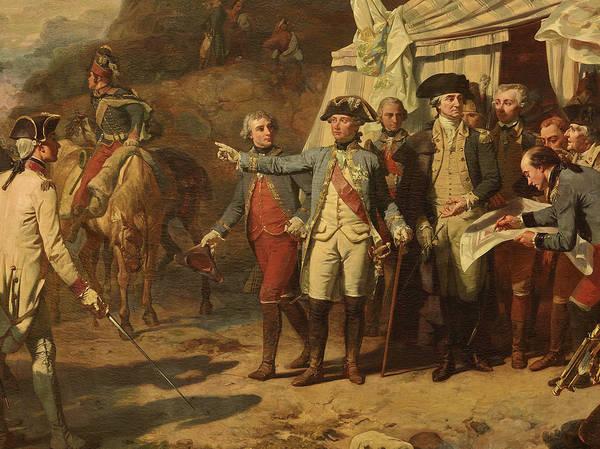 Wall Art - Painting - Siege De Yorktown, 1781 by Louis Charles Auguste Couder