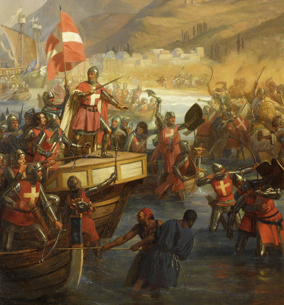 Wall Art - Painting - Siege Of Smyrna by Charles-Alexandre Debacq