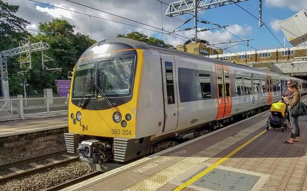 Photograph - Siemens Mobility 360 Desiro Heathrow Connect Train by Jamie Baldwin