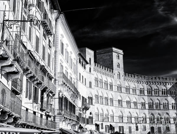 Photograph - Siena Piazza Del Campo Style by John Rizzuto