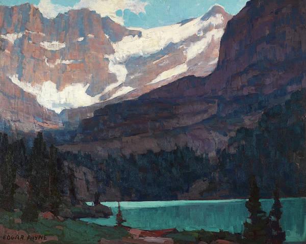 Wall Art - Painting - Sierra Lake by Edgar Payne