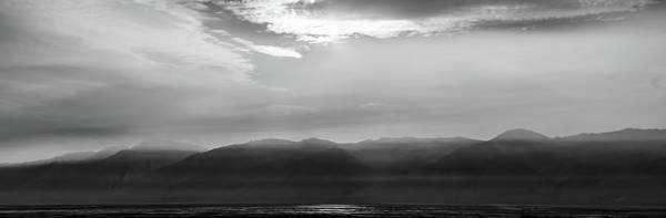 Photograph - Sierra Mountains At Sunset In California by Alex Grichenko