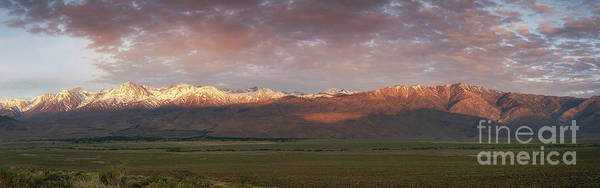 Wall Art - Photograph - Sierra Nevada Mountain Range Panorama  by Michael Ver Sprill
