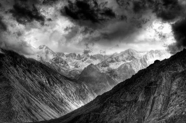 High Dynamic Range Imaging Photograph - Sierra Nevada Mountains, California by Bill Wight
