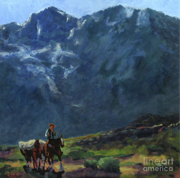 Painting - Sierra Trail by Hilton McLaurin