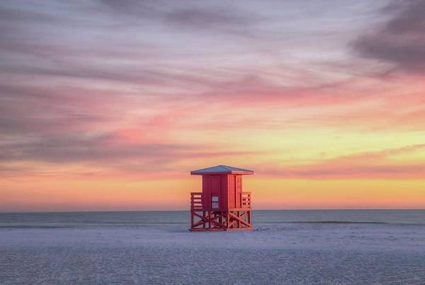 Photograph - Siesta Beach Sunset by Paul Schultz
