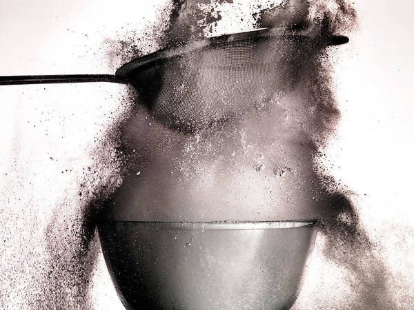 Mixing Photograph - Sieve by Andrew John Simpson